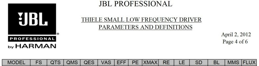 4333A ou 4333B Jbl10