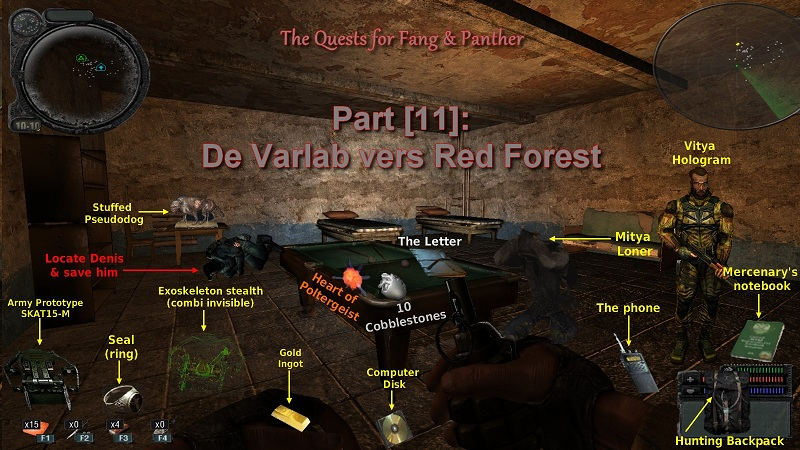 Soluce DMX 1.3.4   Part [11]: De Varlab vers Red Forest   Intro110