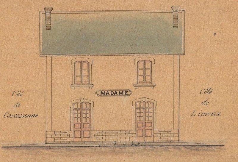 Gare MIDI chez Faller !! 190605 Gare de Aubance Bvmada10