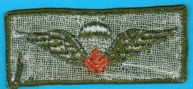 Canadian Para wings and patches help required. Kgrhqe10