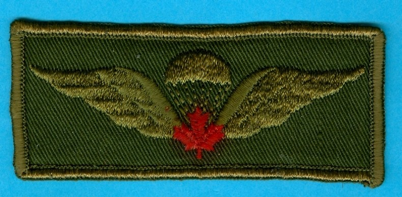 Canadian Para wings and patches help required. Kgrhqy10