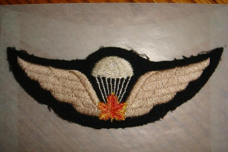 Canadian Para wings and patches help required. Pictur10
