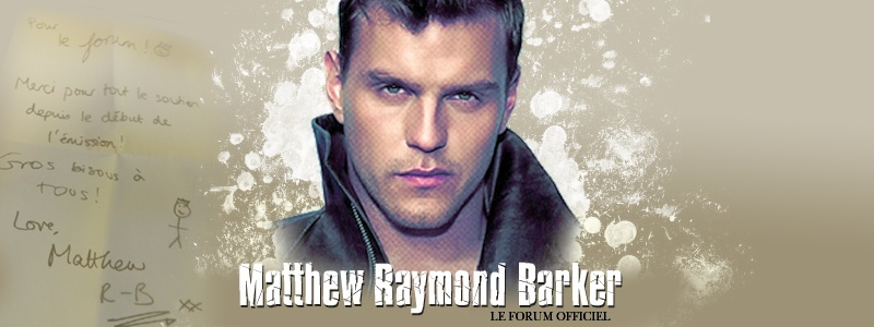 MATTHEW RAYMOND-BARKER ; LE FORUM DE SOUTIEN