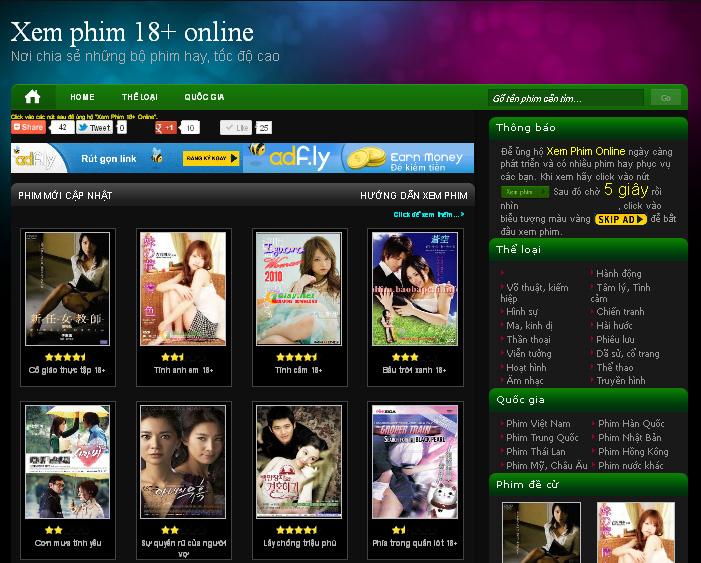 Blog xem phim sex nổi tiếng ở Việt Nam Blogxe10