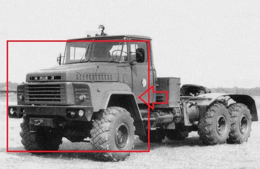 Kraz 2664 Sattelzugmaschine 260er10