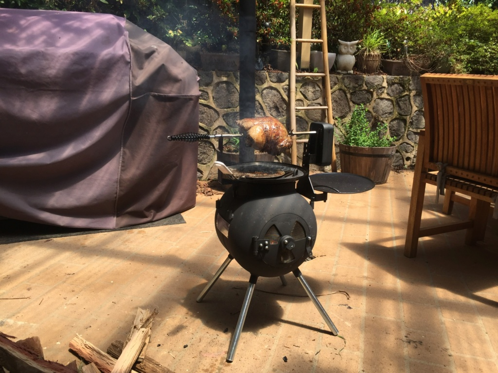 Portable Camp oven/stove 02692710