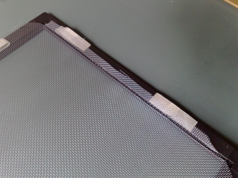 [HOW TO] DIY Wire Screen Enclosure Top T910