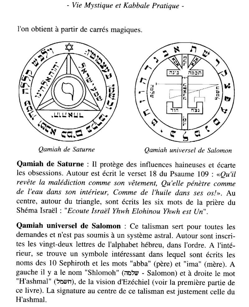 Pentacle, Talisman pour protection ? Qamiah10