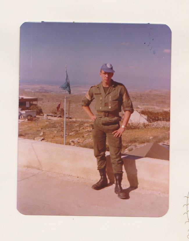 FINUL (Liban) 1978-1979 Moi_au13