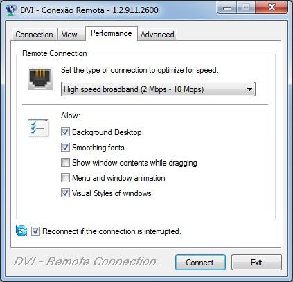 RDCViewer (Remote Desktop Viewer) control. Perfor11