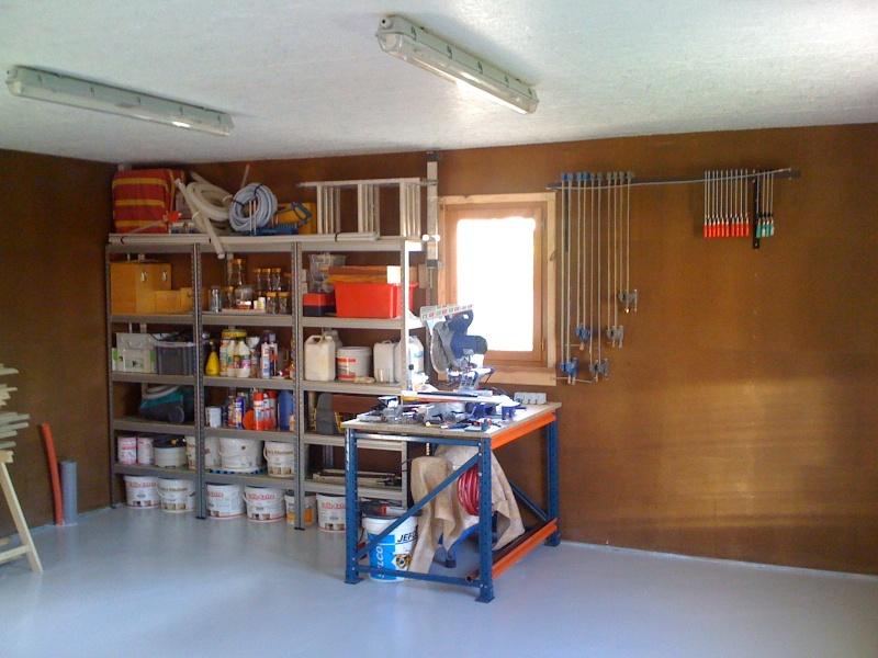Construction de mon Atelier pour assouvir ma passion du bois Img_0310