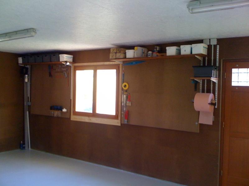 Construction de mon Atelier pour assouvir ma passion du bois Img_0311