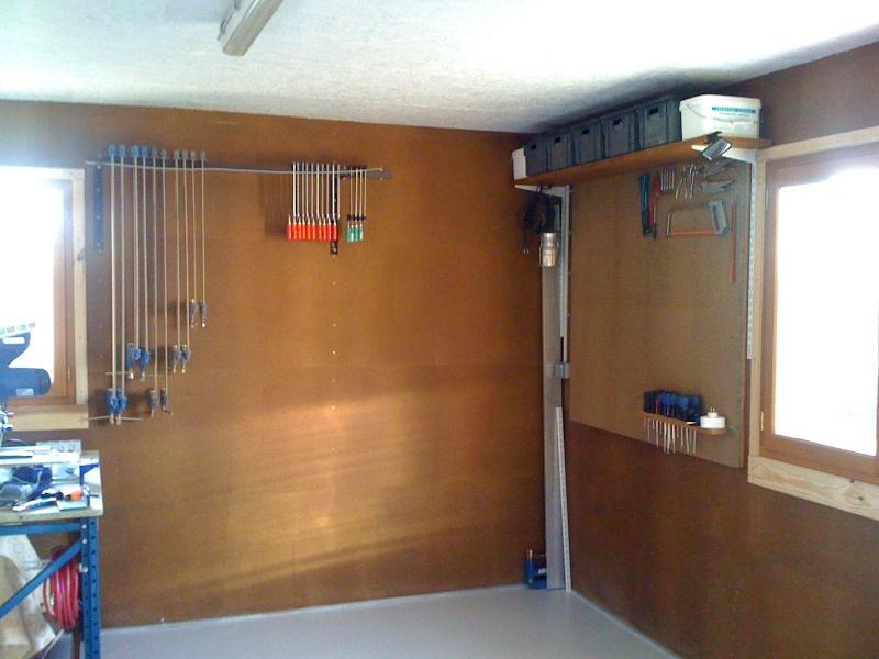 Construction de mon Atelier pour assouvir ma passion du bois Img_0312