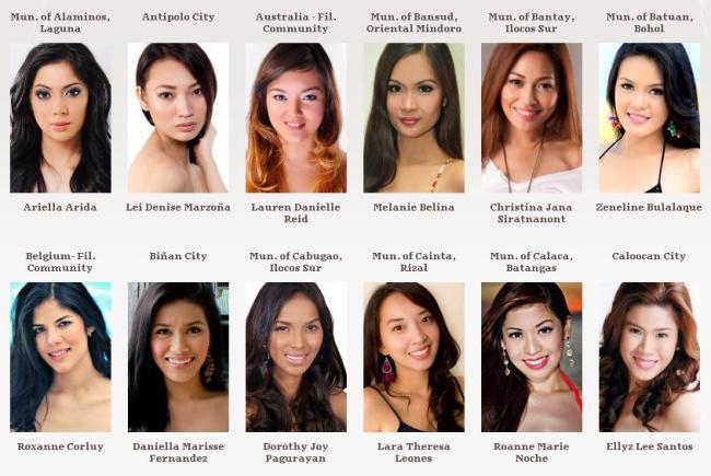 Road to Miss Philippines Earth 2012 Group_10