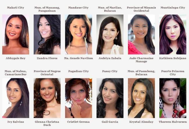 Road to Miss Philippines Earth 2012 Group_12