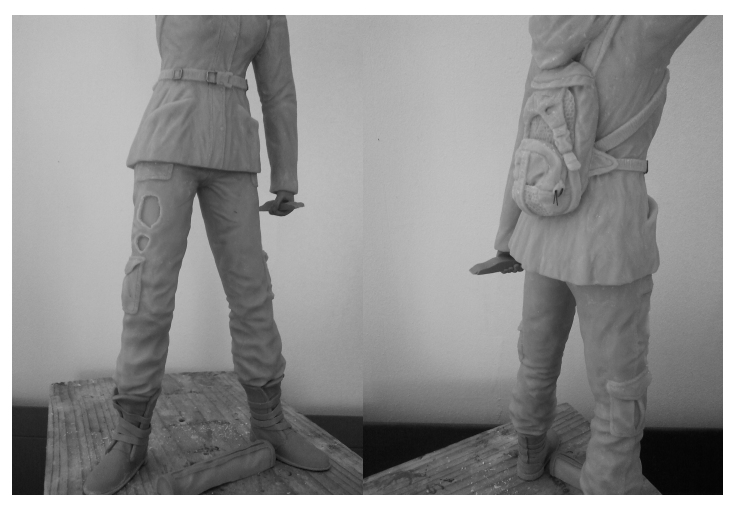 Sculpture de Diablo : Katniss Everdeen 1/6 statue (Hunger Games) Wip110