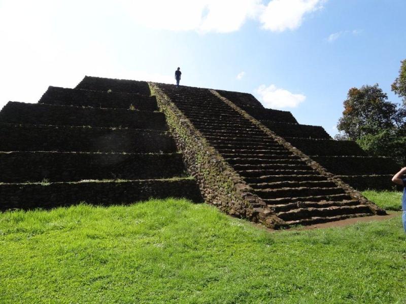 Tingambato archaeological zone Dsc02715