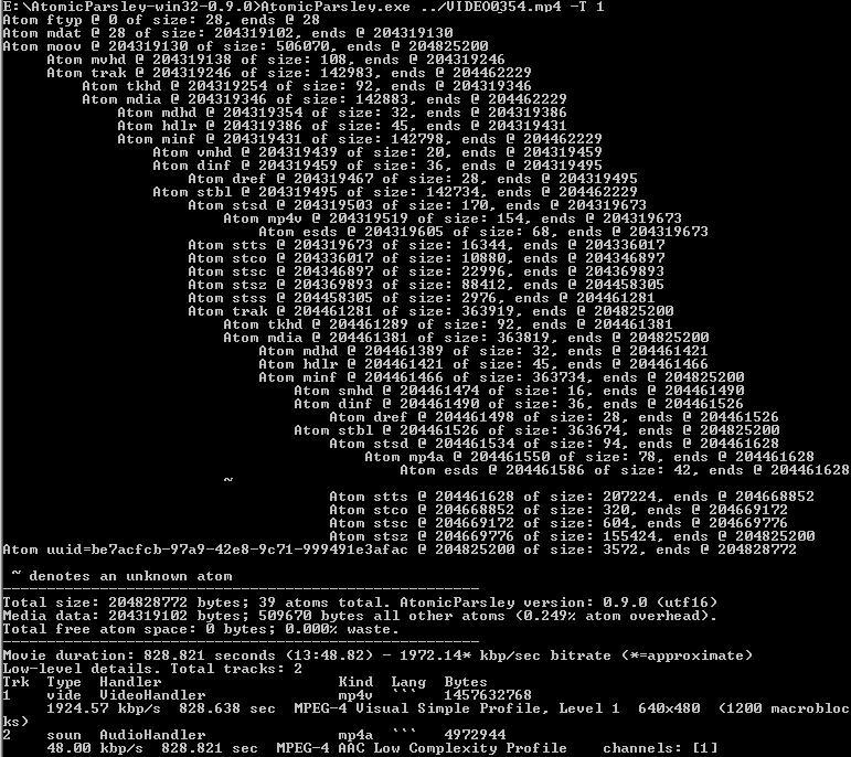 Tuto recupération fichier MP4 endommagé/illisible Atomic12
