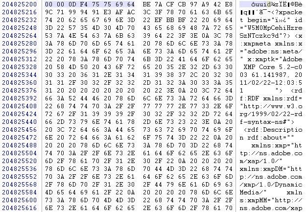 Tuto recupération fichier MP4 endommagé/illisible Finhex10