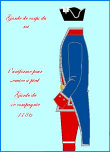 Les Gardes du corps de Louis XVI 220px-10