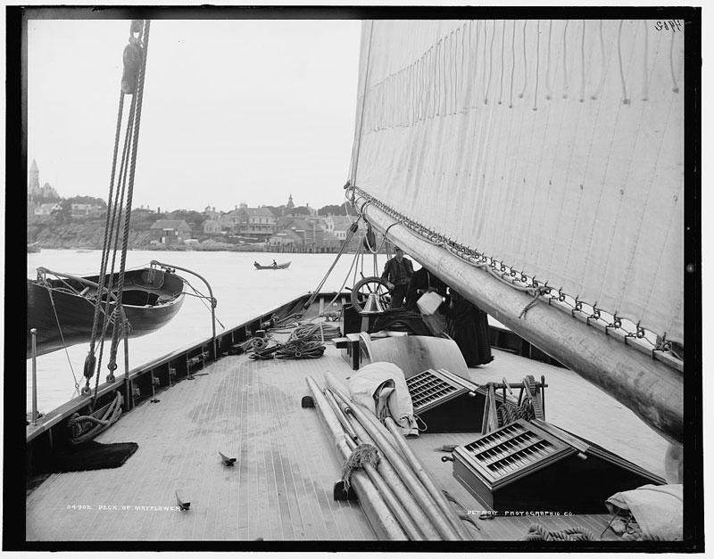 Puritan, sloop de 1885 - Page 2 Mayflo10