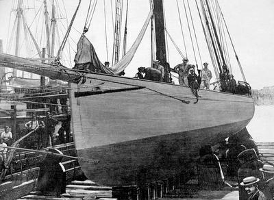 Puritan, sloop de 1885 Purita11