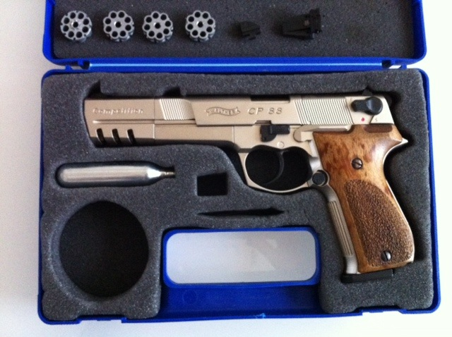 Ou trouver un Walther cp88 competition nickele Cp8812