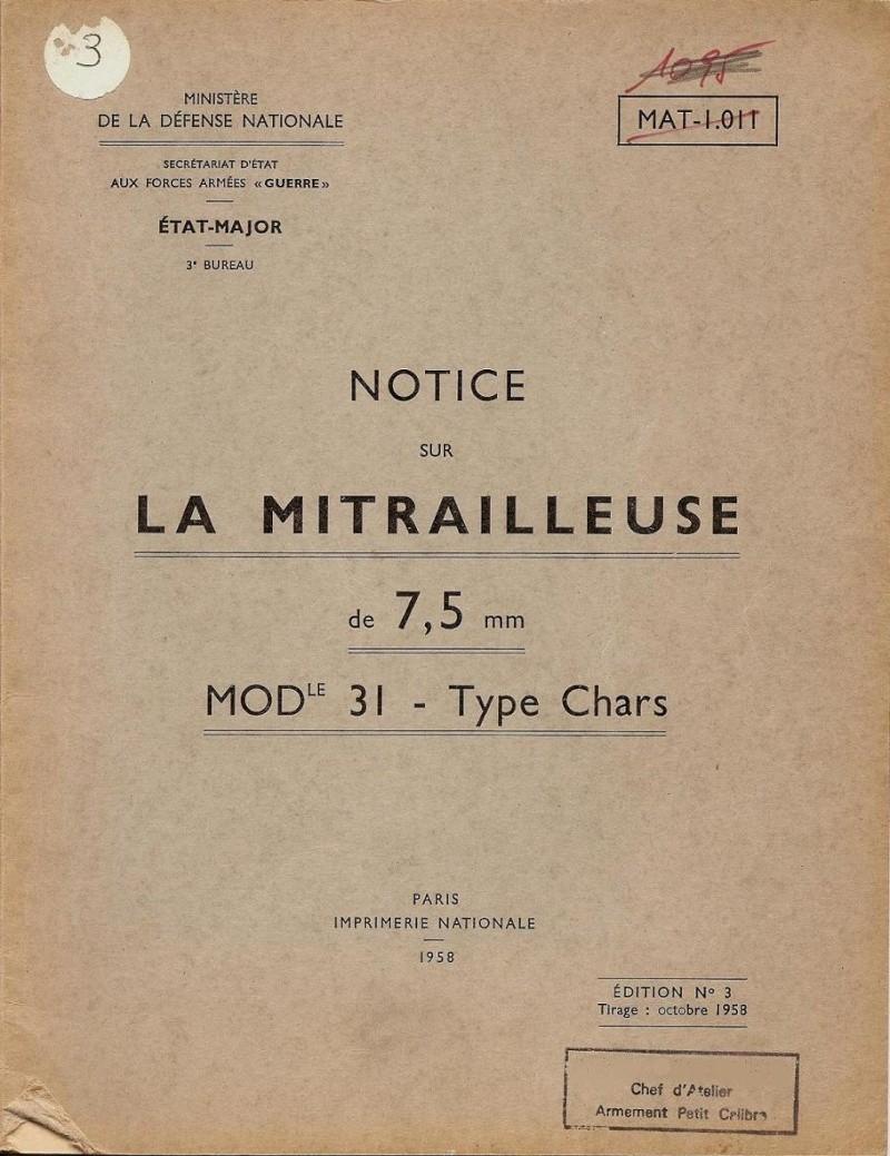 La MAC 31 E Reibel Notice11