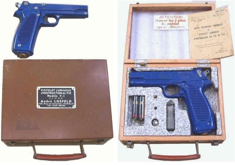 Le P.A.  M.A.C. 50 et son environnement. Pistol11