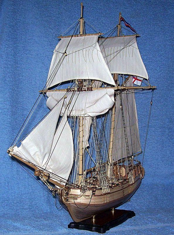 HMS Halifax 1768 (Constructo 1/35°) de sangha Halif159