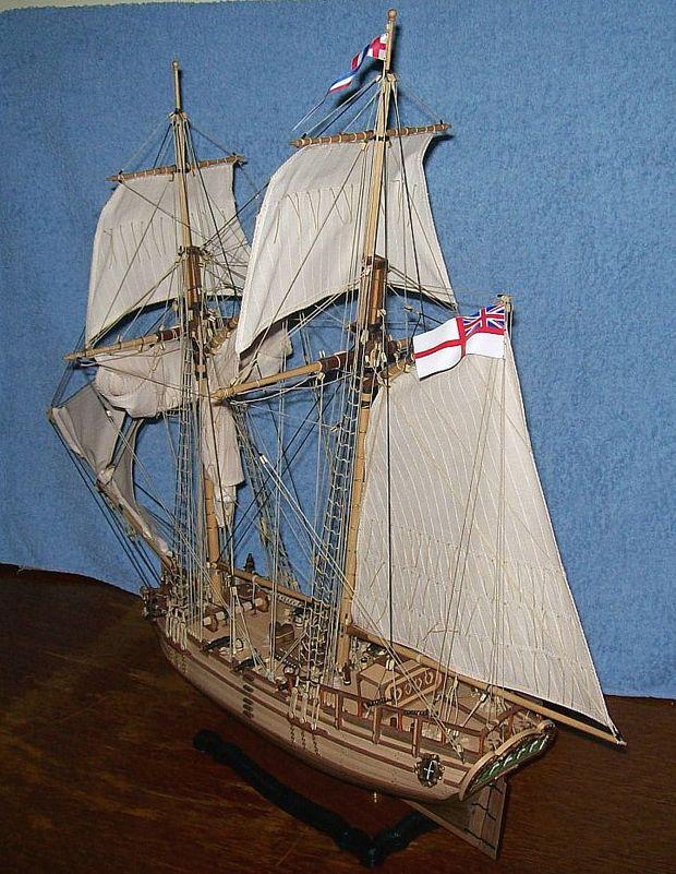 HMS Halifax 1768 (Constructo 1/35°) de sangha Halif161