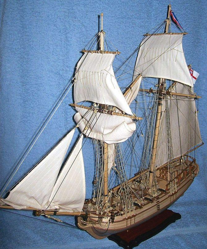 HMS Halifax 1768 (Constructo 1/35°) de sangha Halif162
