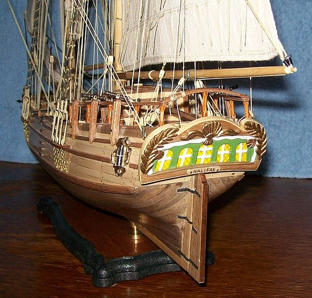 HMS Halifax 1768 (Constructo 1/35°) de sangha Halif183