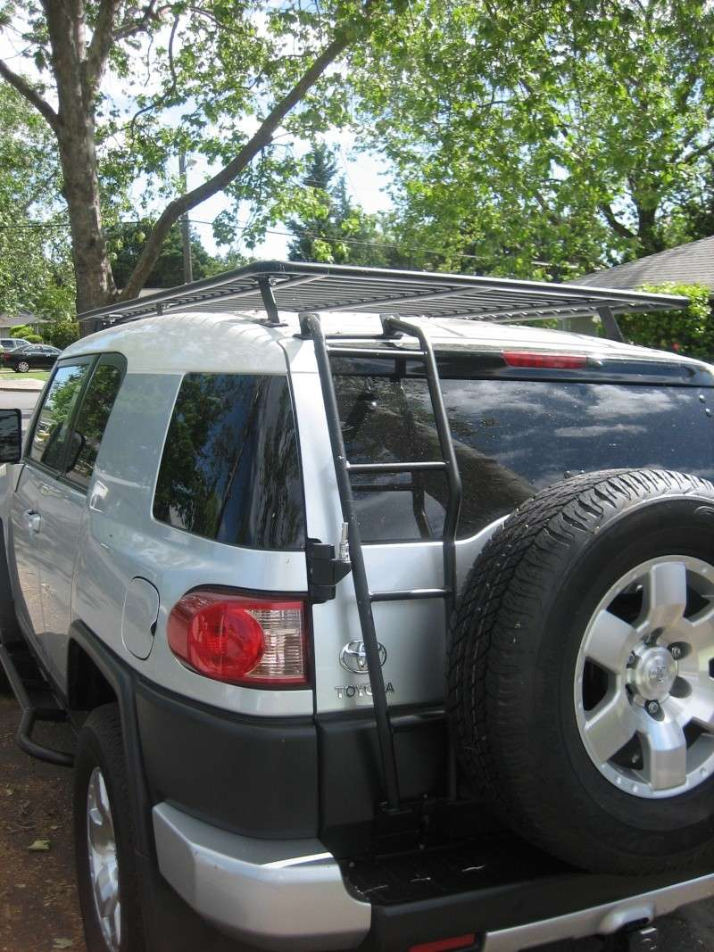 Full size baja utility rack best purchase for my fj yet Bajara10