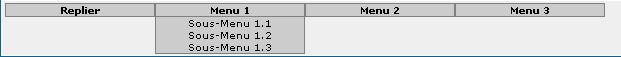 Installation d'un menu déroulant Captur12