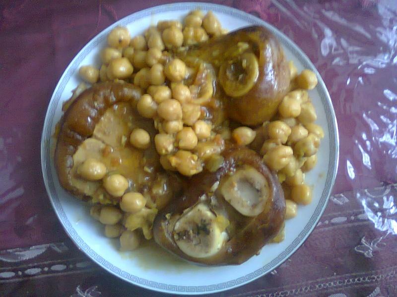 L'kor3in Marocain / Pieds de Veau à la Marocaine 00611