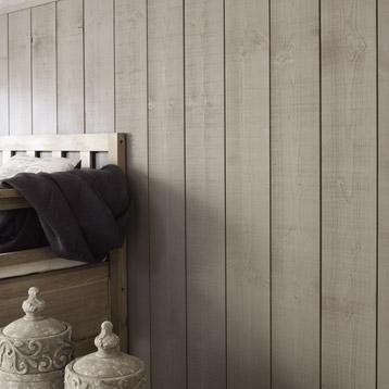 conseils pour r aliser un mur en bois teint voici le. Black Bedroom Furniture Sets. Home Design Ideas