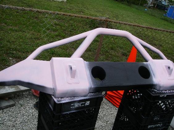 Free stock jk rear bumper Ubump10