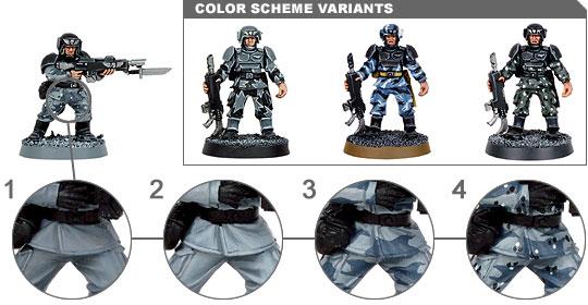 Demande conseils schéma de couleur Garde Impériale M1034410