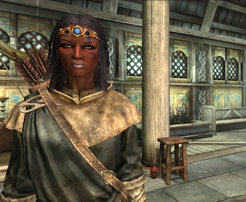 Skyrim Characters Earwyn14