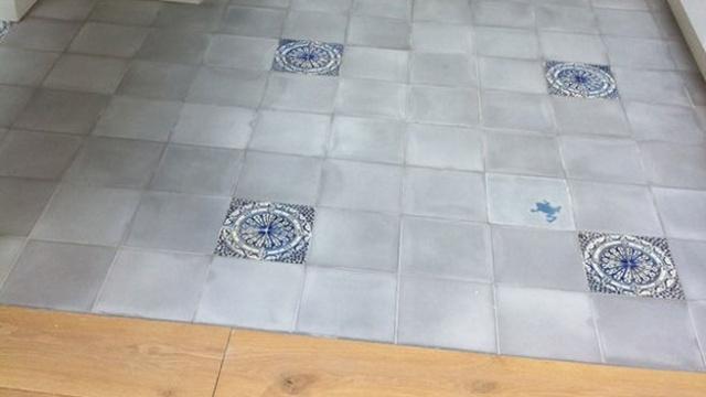 Conseils carrelage cuisine ancienne carreaux ciment - Reparer un carreau de carrelage casse ...