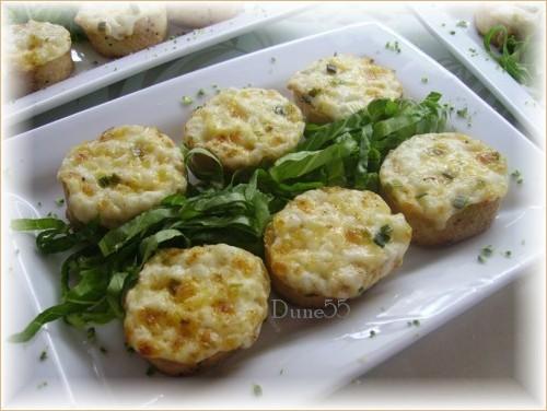 Hors-d'oeuvres : petites toasts et bouchées Pict0110