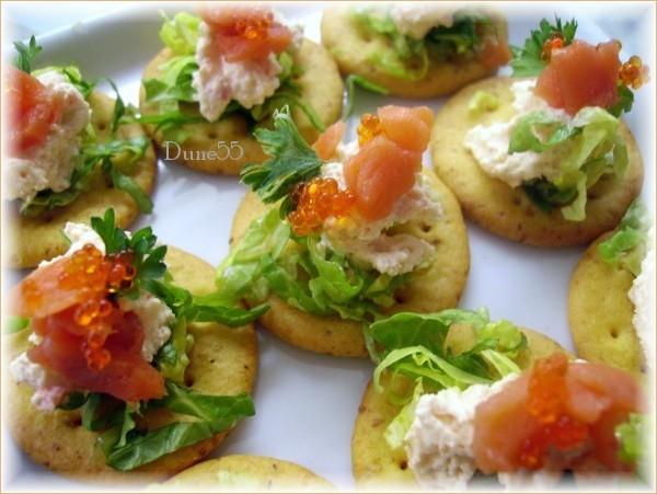 Hors-d'oeuvres : petites toasts et bouchées Pict4810