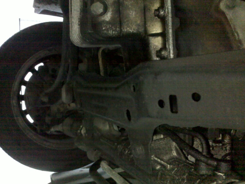 [ bmw E36 316i M43 an 1995 ] Roue AV plus droite / choc avec trottoir    11112023