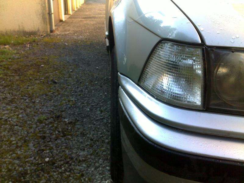 [ bmw E36 316i M43 an 1995 ] Roue AV plus droite / choc avec trottoir    11112025