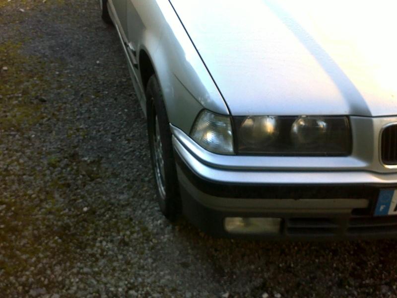 [ bmw E36 316i M43 an 1995 ] Roue AV plus droite / choc avec trottoir    11112026