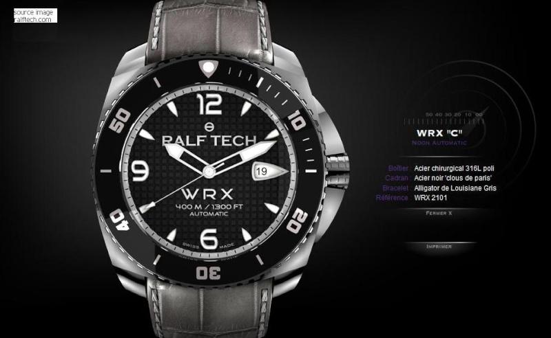 ralf - Les montres actuelles du Commando Hubert, Ralf Tech Rw1110