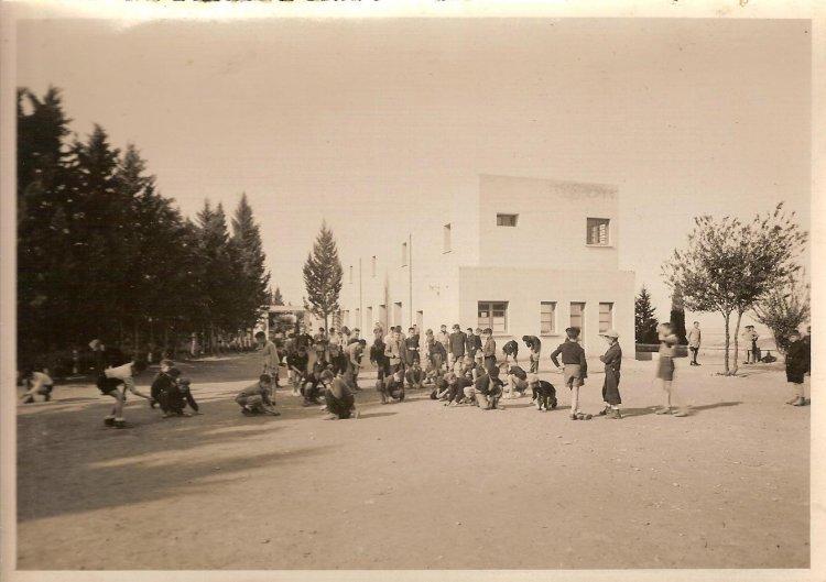 Le Collège des Oratoriens à Meknès Plaisance 1950_c10