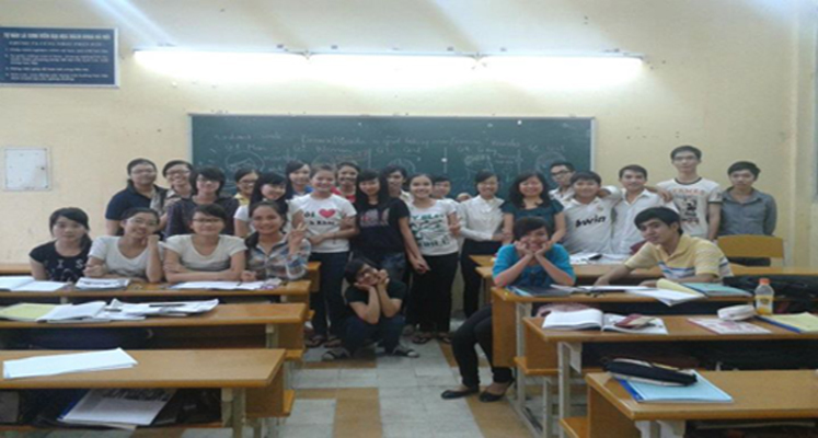 Website class TA705-K56-Ha Noi University Of Science and Technology