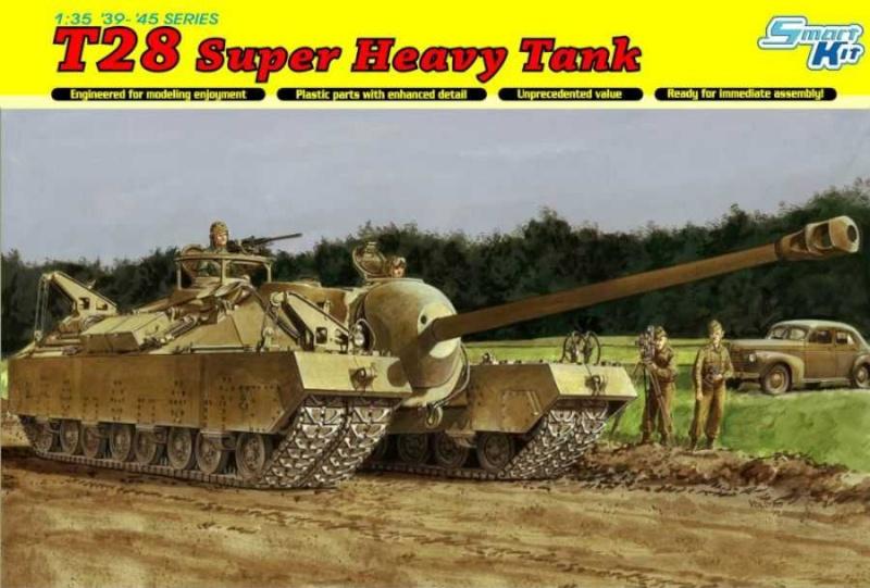 Char US super lourd T28 au 1:35 Tdd18210
